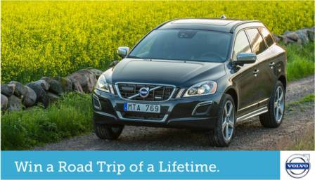 Volvo Road Trip of a Lifetime
