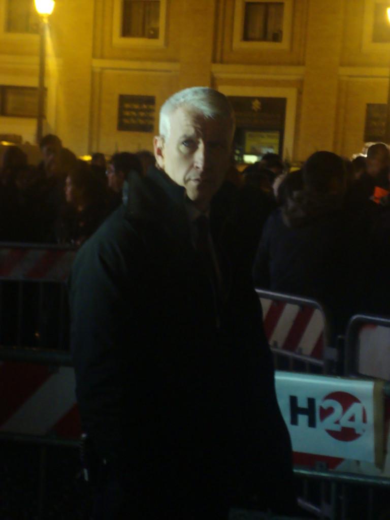 Anderson Cooper in Rome